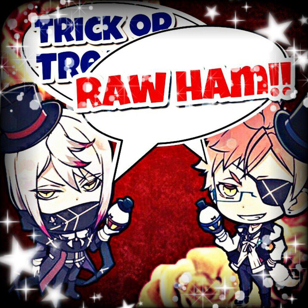 今年のハロウィンはディアラバで盛り上げるぞーヾ( ^ω^)ノ最初は始祖のお2人!!シン「Trick or Tre…」カル
