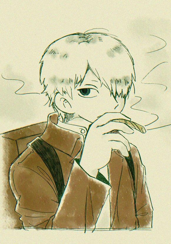 中屋キコさん( )リクエストの蟲師のギンコさんです!ギンコさん大好きだけどあまり描いたことなかったので楽しかったです😳