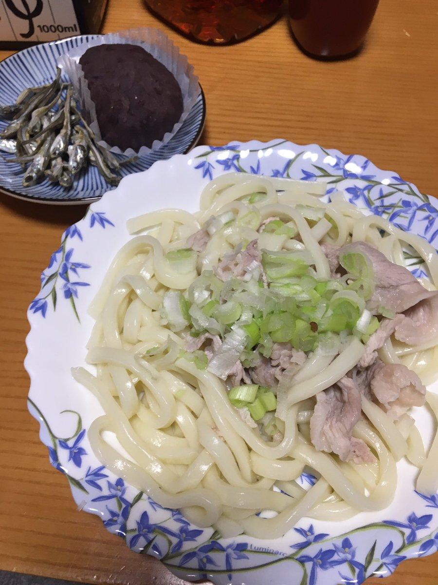 今日の夕飯!!あらためてゆゆゆ二期&わすゆ制作決定おめでとう!!#yuyuyu