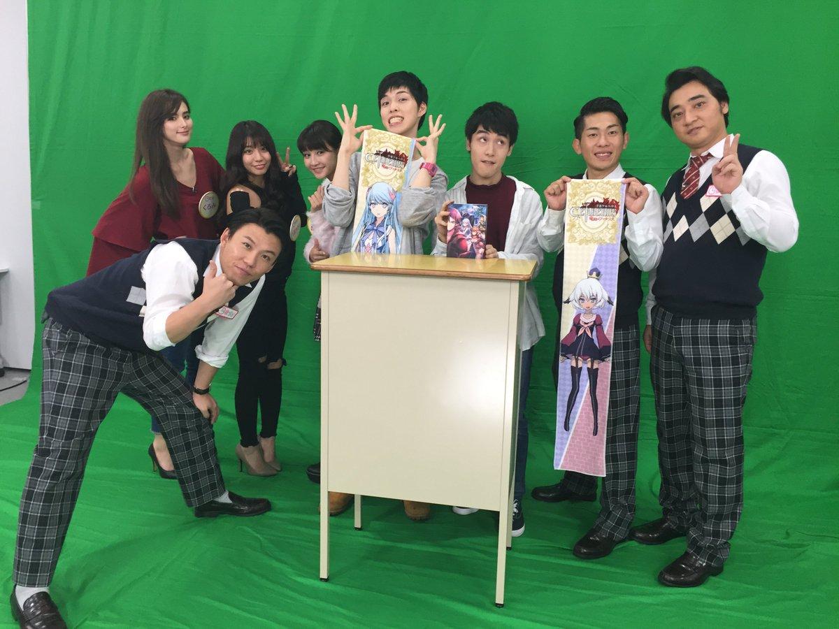 【番組告知】テレビ東京にて、深夜に絶賛放送中の『一夜づけ』において『聖戦ケルベロス 竜刻のファタリテ』が大特集されます!