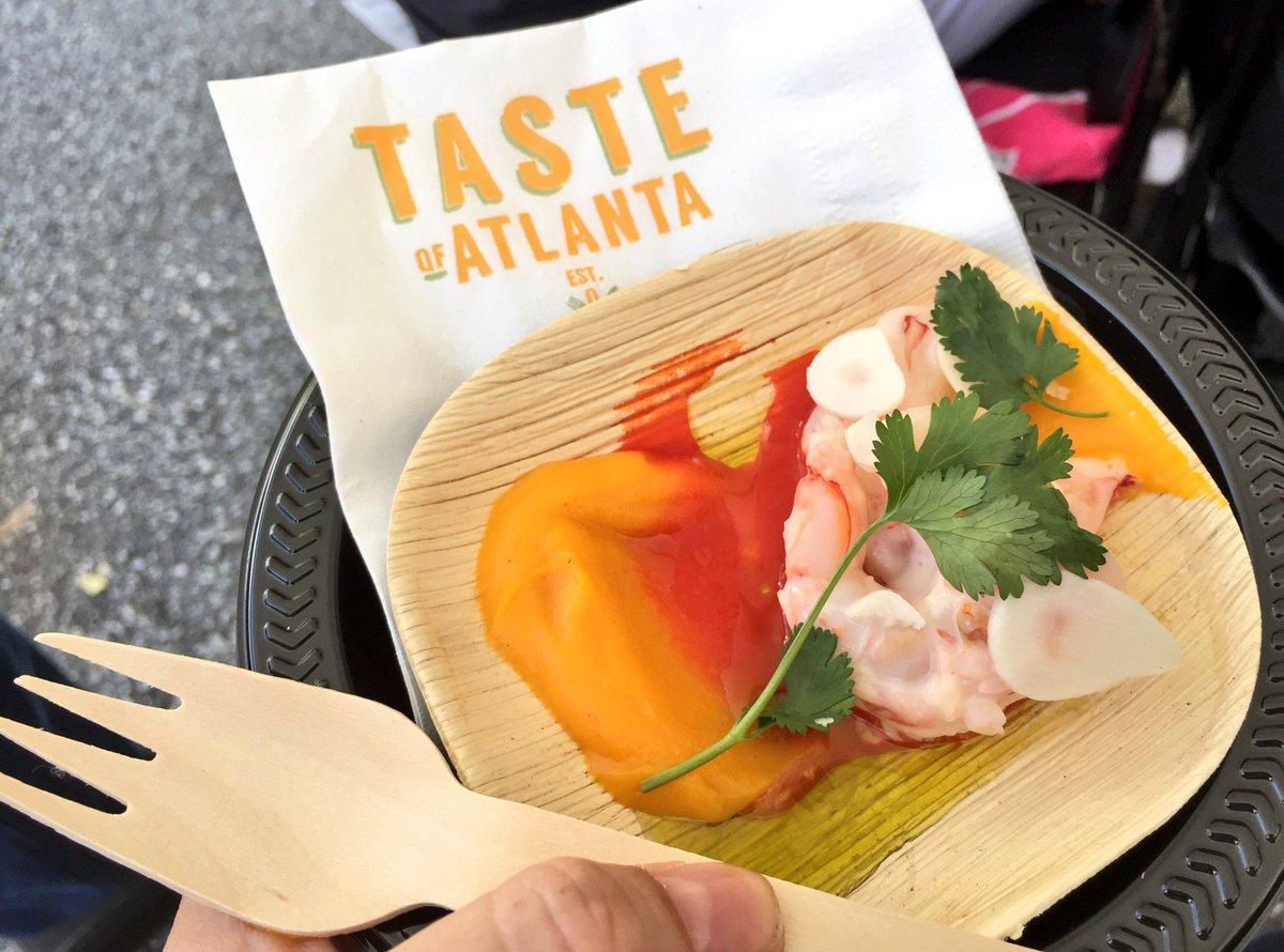 RT <a href=https://twitter.com/AnnaFeasts target=blank>@AnnaFeasts</a>: .@ChefHector Santiagos spicy poached shrimp <a href=https://twitter.com/tasteofatlanta target=blank>@tasteofatlanta</a> #omnomnom #chefdemo <a href=https://t.co/iT2ZUABHOi target=blank>https://t.co/iT2ZUABHOi</a>