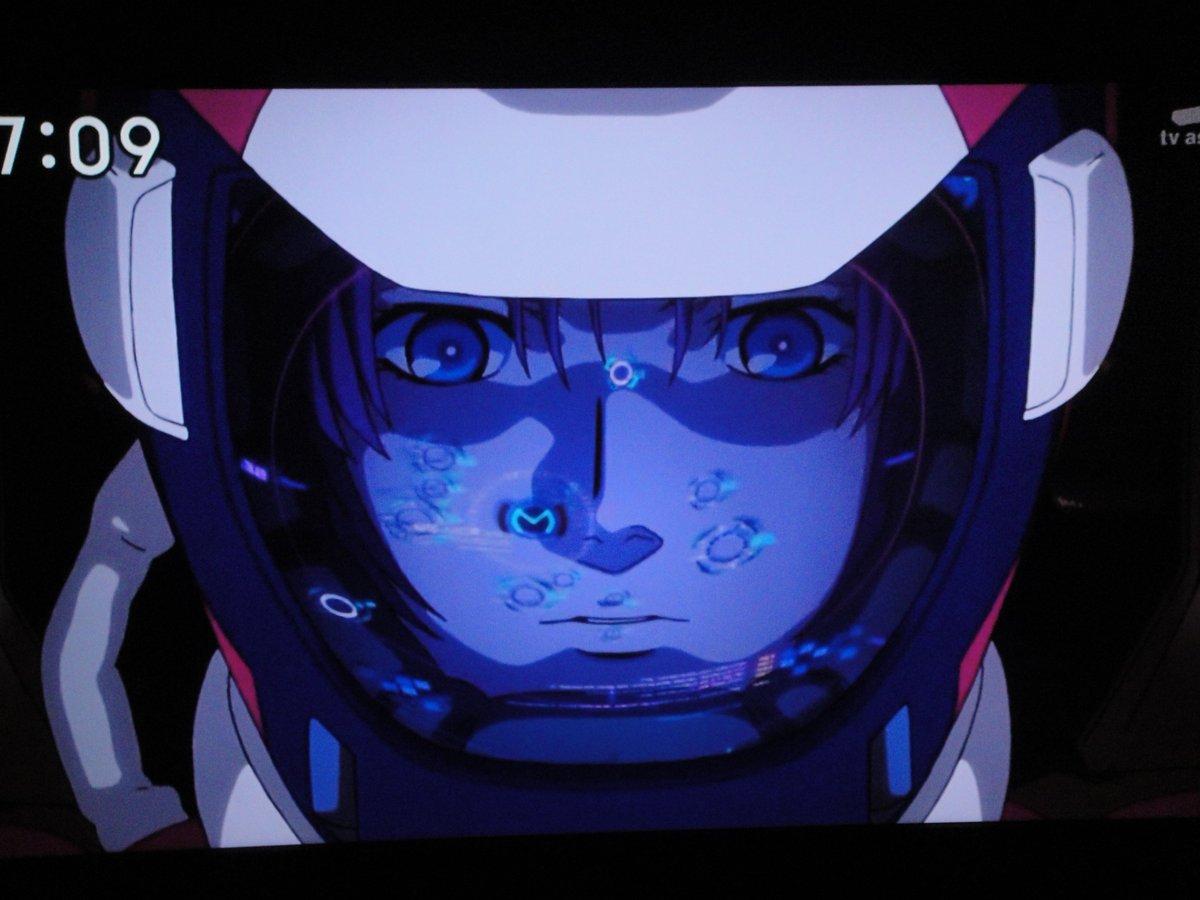 「ガンダムユニコーン RE:0096」を見て、マリーダ・クルスがお気に入りキャラに。声が最近のララ・クロフトを演じている