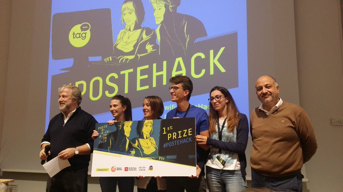 #PosteHack