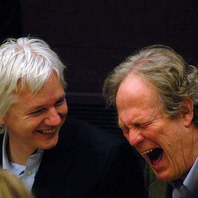 PHOTO: Gavin Macfadyen, beloved WikiLeaks director and mentor to many investigative journalists, who died yesterday.