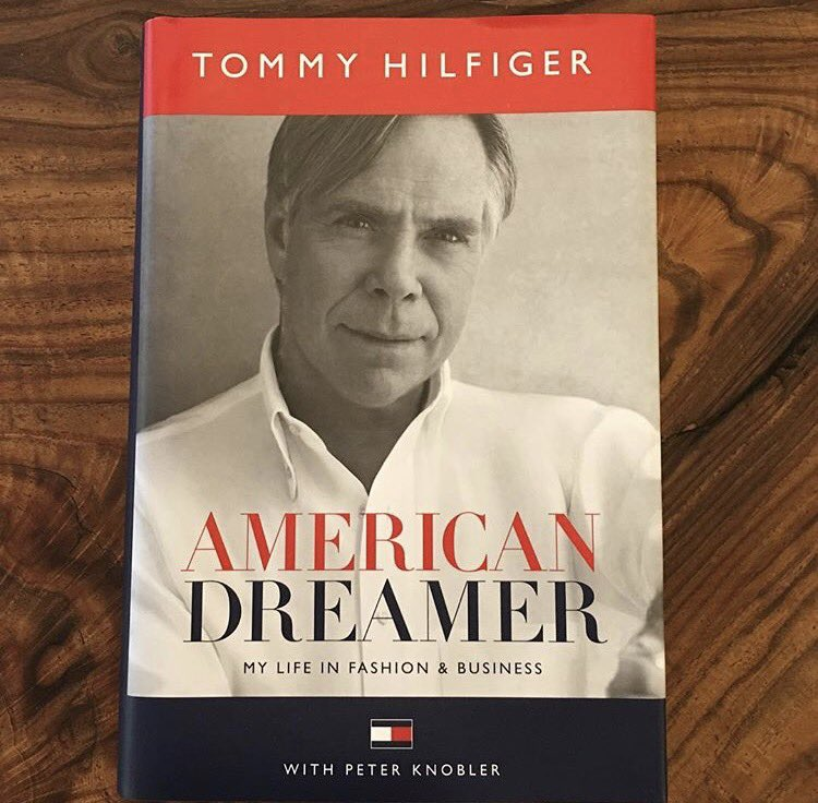 So looking forward to reading this @TommyHilfiger Congrats! #AmericanDreamer #Icon ❤️ https://t.co/bLUAAsVtgq