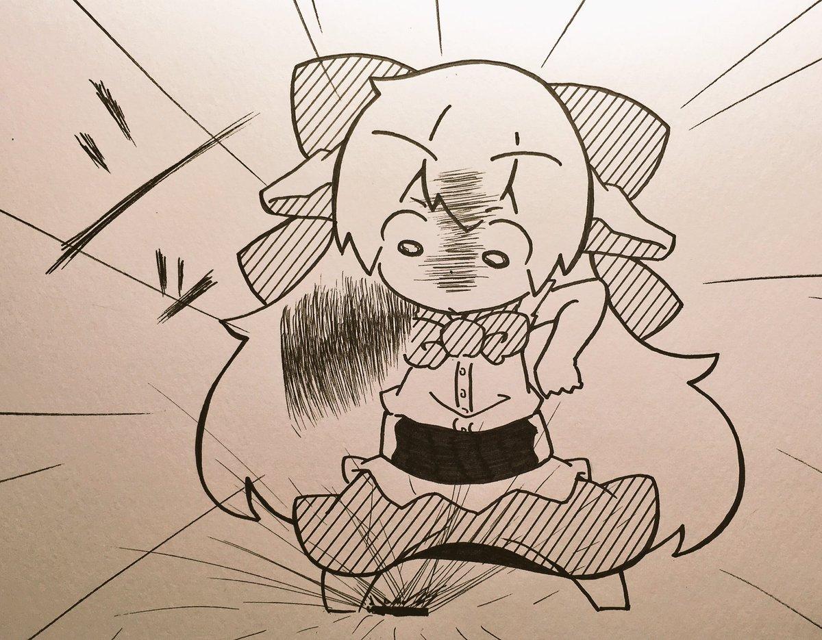 月曜日のたわわチャレンジに挑戦する萃香ちゃんす!