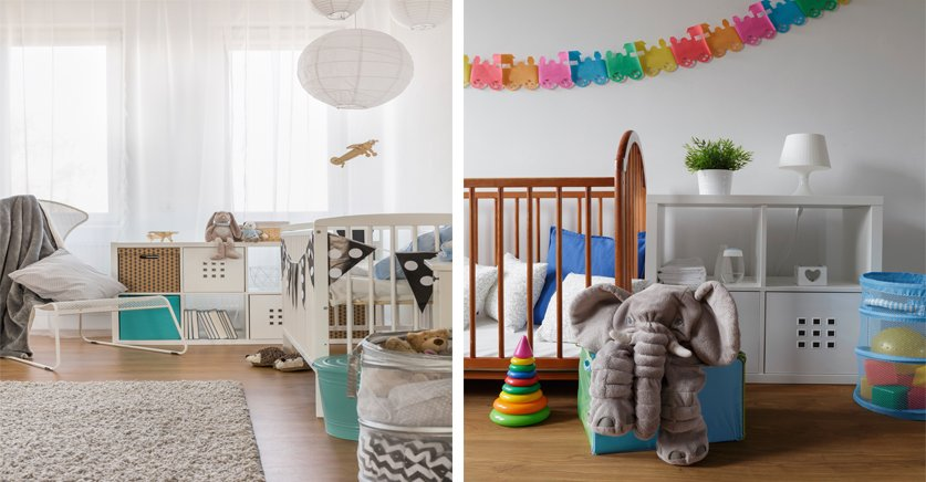Consejos de decoración para preparar una habitación de bebé