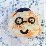 シャケキース。なんかこわいな。#今日の共食い #onigiri #riceball #onigiriaction