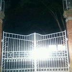 断裁分離のクライムエッジの聖地なんだけど中入れない (@ 天鏡閣 in 猪苗代町, 福島県, 福島県)