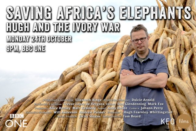 Elizabeth Hurley @elizabethhurley: RT @tusk_org: Urging everyone to watch 'Saving Africa's Elephants - Hugh & the Ivory War' tonight on #BBC1 at 9pm @tusk_org https://t.co/QU…