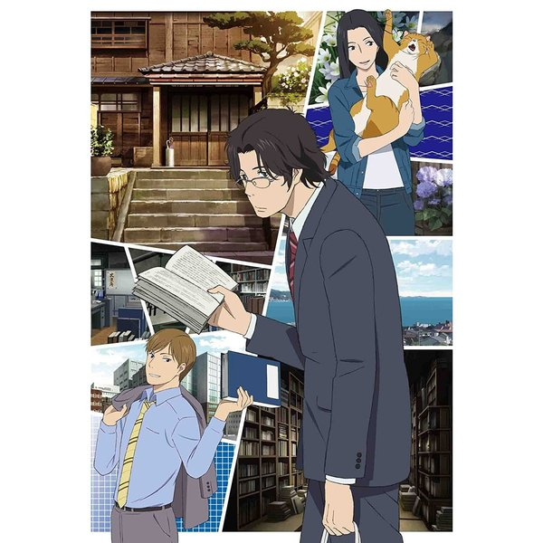@7_netshopping: アニメ『舟を編む』完全生産限定版DVD&BD予約受付中!2012年に本屋大賞を受賞した三