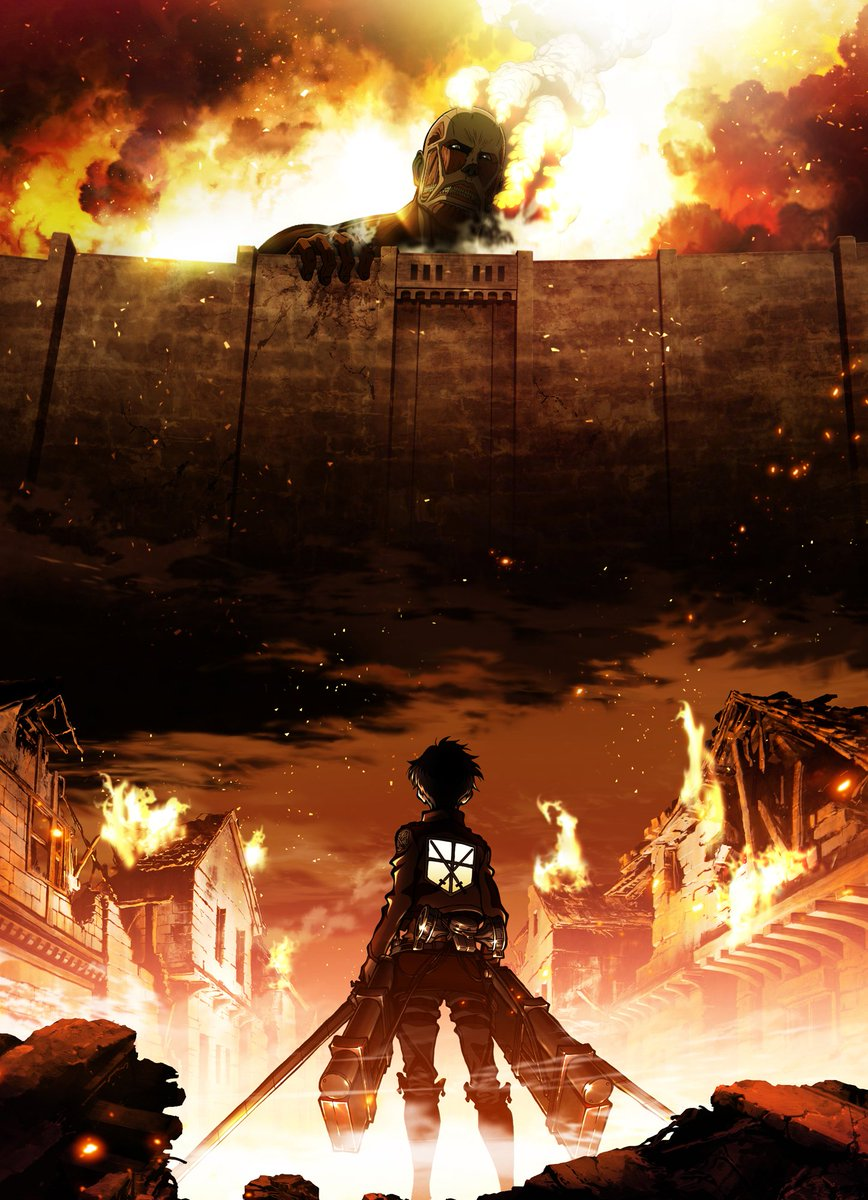 TOKYO MXにて毎週月曜日23:00~「進撃の巨人」オリジナルマスター版が現在放送中ですが、本日はOADの#3.5「イルゼの手帳」地上波初放送です!!是非、ご覧ください!shingeki.tv/news/archives/… #shingeki