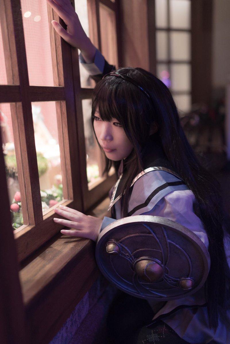 【魔法少女まどか★マギカ】暁美ほむら:西奈Photo:帆明似さん