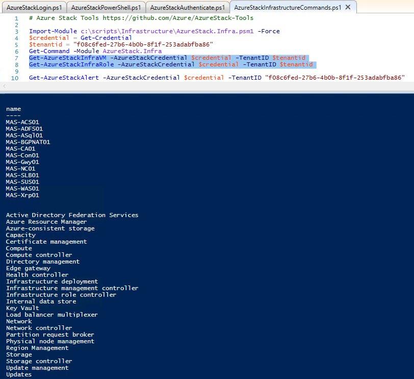 Check out the Azure Stack Tools: https://t.co/KebRFgAEIP #AzureStack https://t.co/iLon1JUOgz