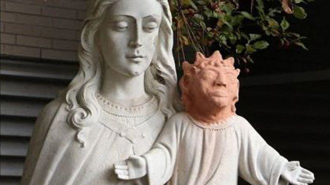 UNHOLY THEFT: Baby Jesus head returned after strange fix backfired