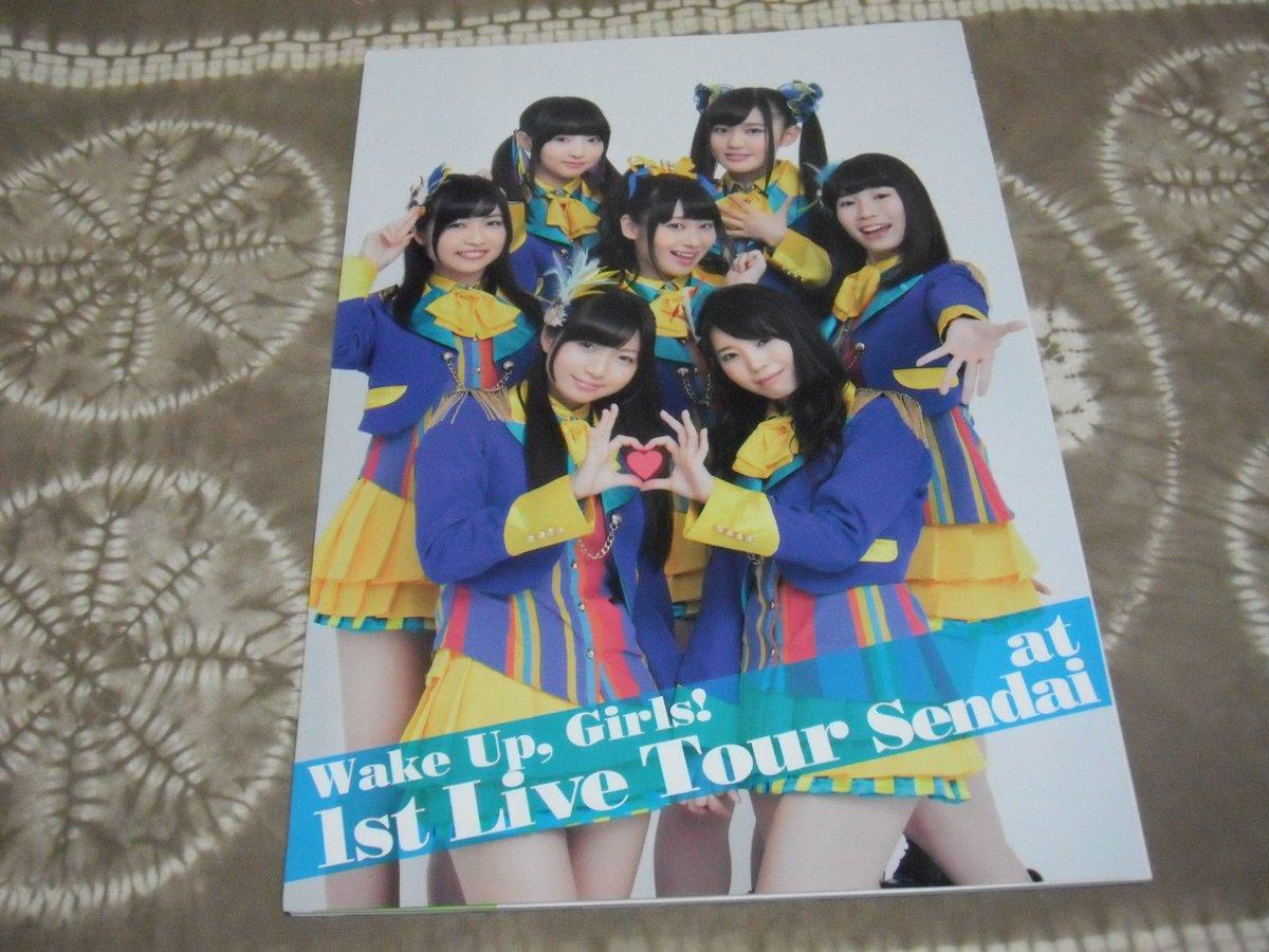 【ヤフオク】Wake Up Girls! 1st Live Tour 素人臭くてごめんね! at 仙台のパッフレット#W