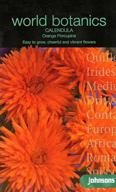 【輸入種子】Johnsons SeedsWorld Botanics CollectionCalendula Orang
