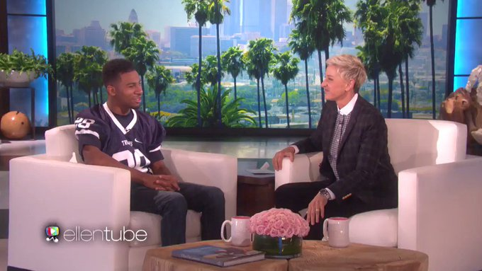 Ellen DeGeneres @TheEllenShow: If people tell you that you can't… remember my friend Marvin. I love this story. https://t.co/NmHWWTt3fe