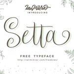 ⬇ Free download: Setta Script #Typeface #Font - https://t.co/IzrVnjQMhp https://t.co/mqvBVRsIlz