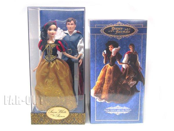 白雪姫&王子 プリンセス&プリンス フェアリーテイル デザイナーコレクション コレクタードール 人形