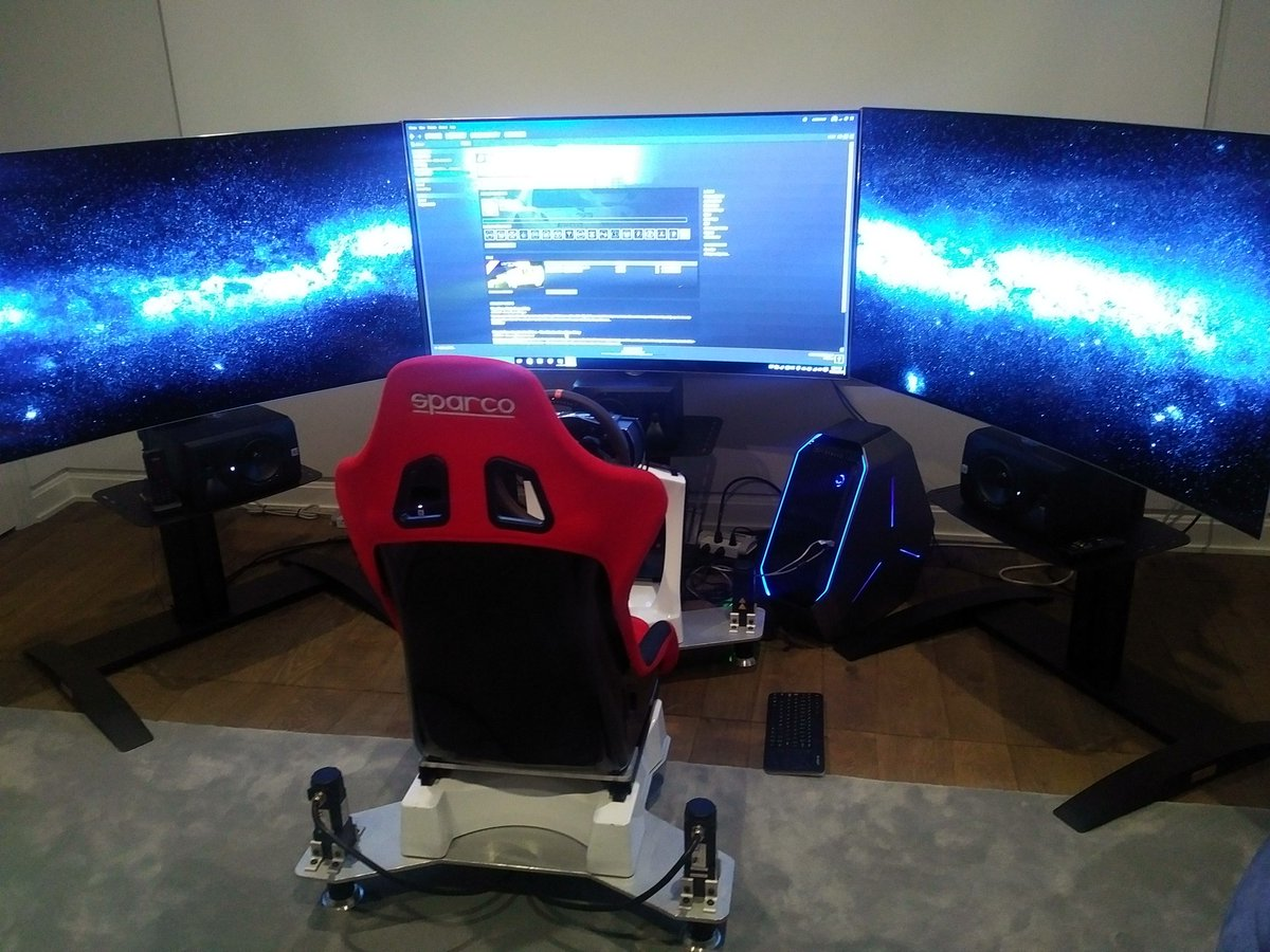 test Twitter Media - RT @SigmaTimeAttack: D-Box setup #fullmotion #simulator https://t.co/xx1amv8O9q