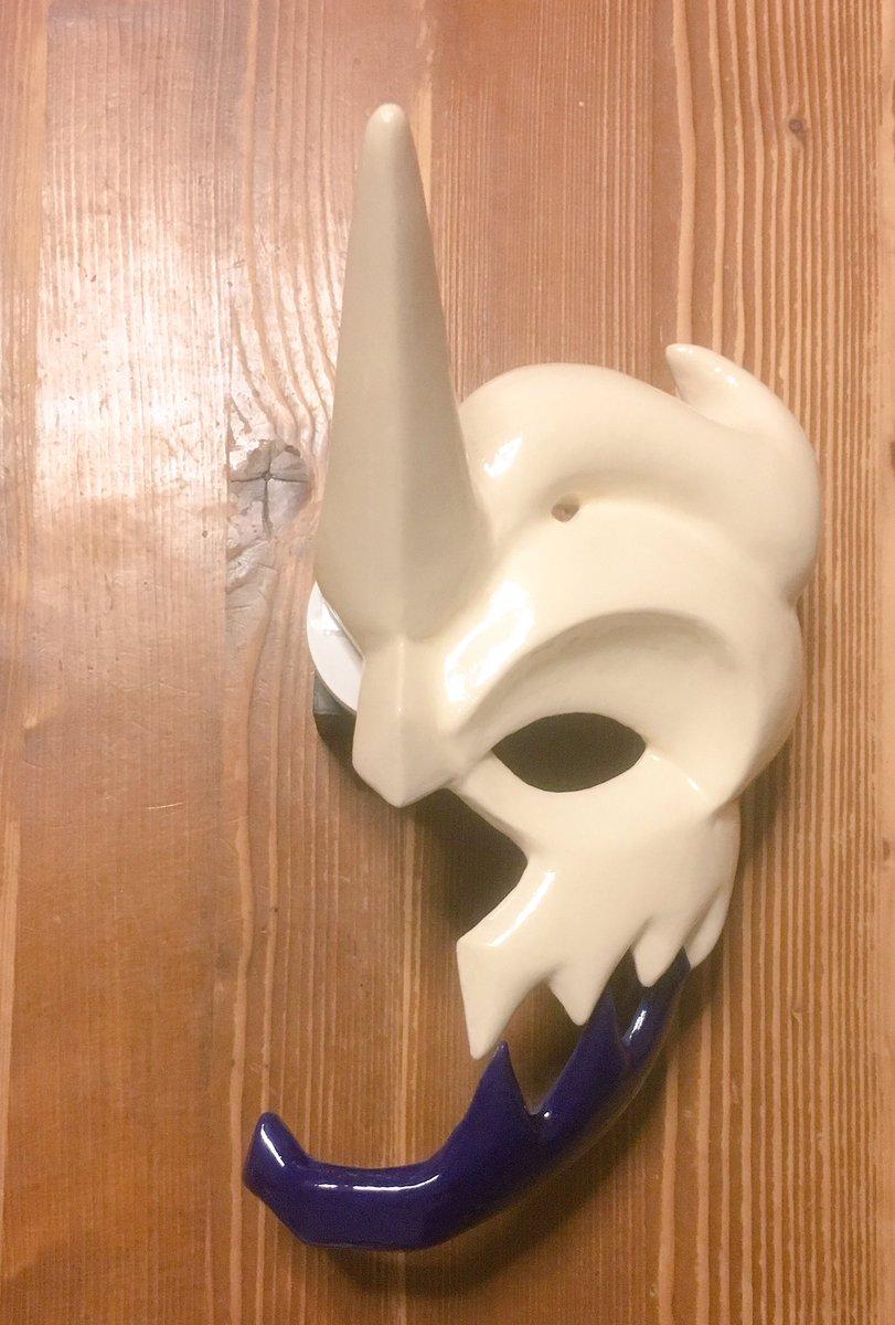 ミカヅチの仮面とりあえず完成#うたわれ