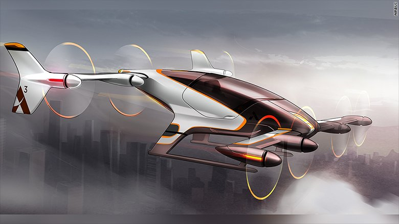 Airbus envisions making Uber-like air taxis that beat traffic by flying over it