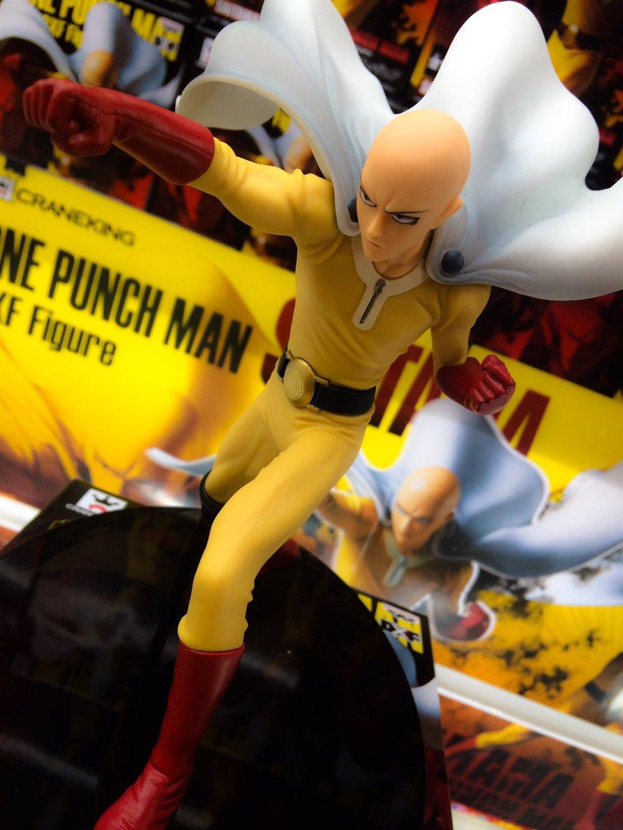 【プライズ】『ワンパンマン DXFフィギュア』入荷しました!!サイタマ先生のDXFが登場です!!戦闘態勢の躍動感溢れるサ