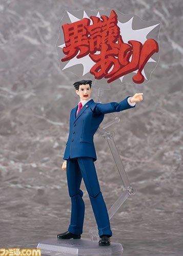"""『逆転裁判』シリーズの逆転を呼ぶ弁護士""""成歩堂龍一""""がfigmaになって登場!"""