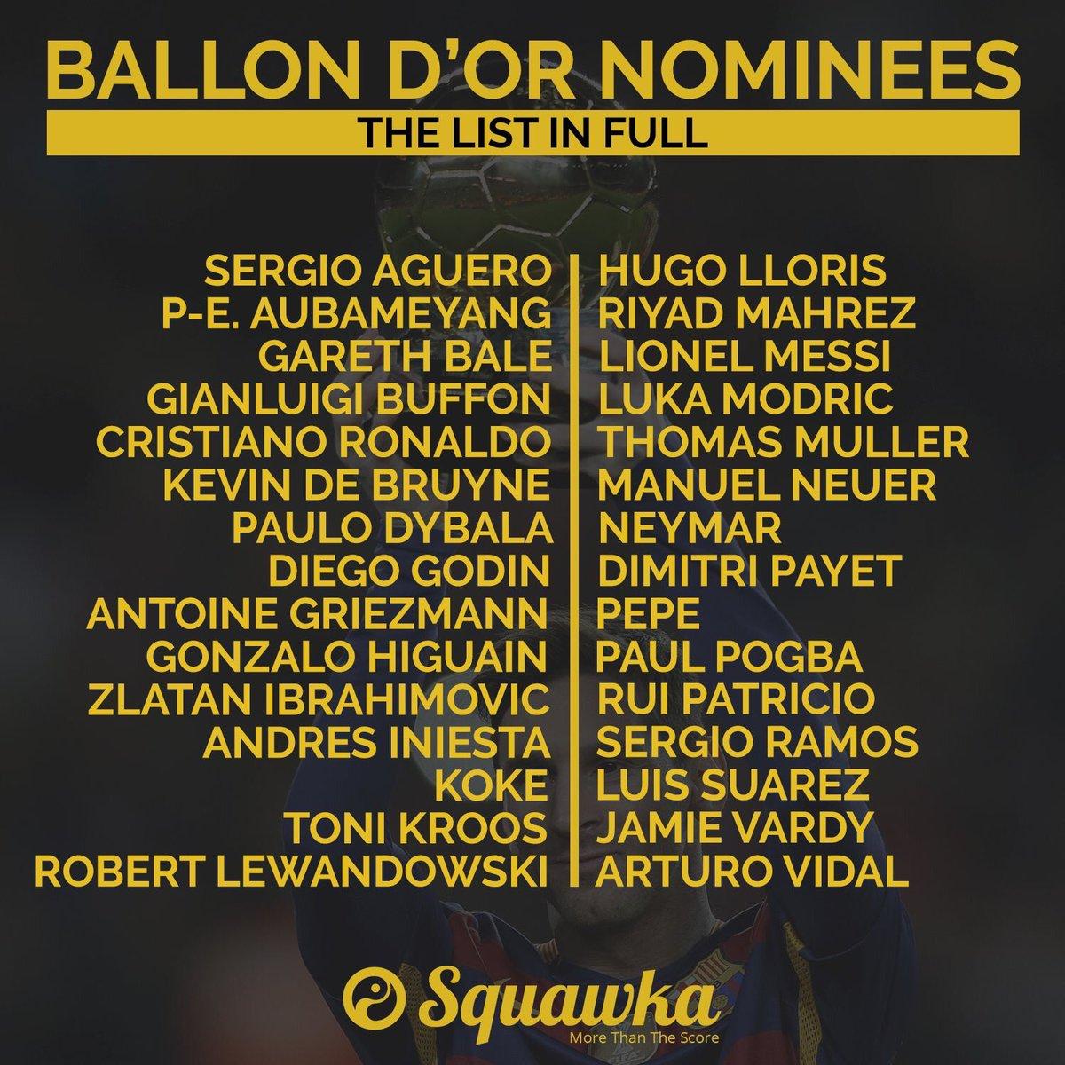 #BallonDor