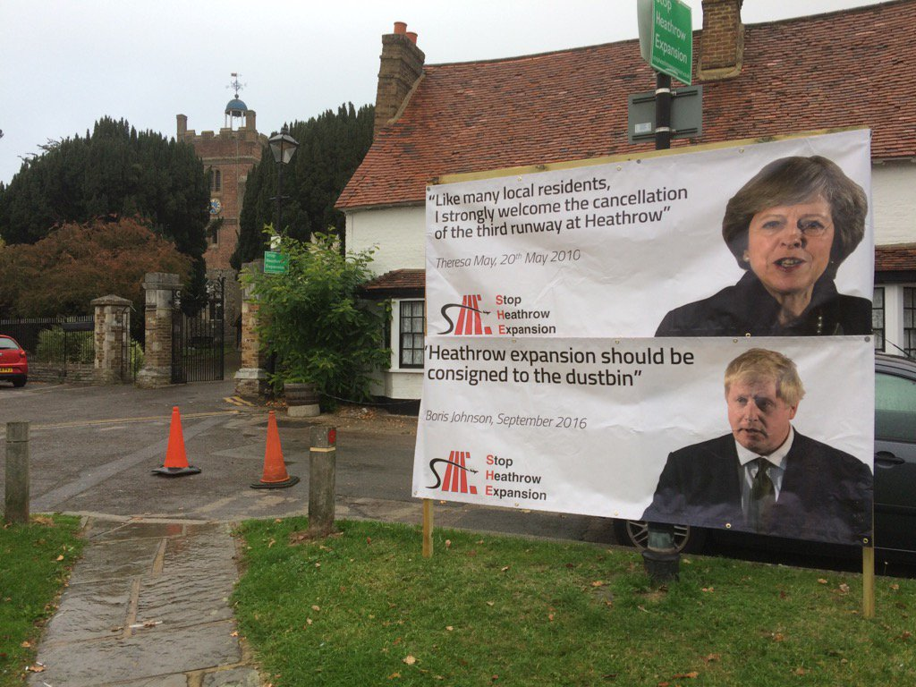 In Harmondsworth, half of which is set to be demolished if #Heathrow third runway is built https://t.co/yrptNqgl02