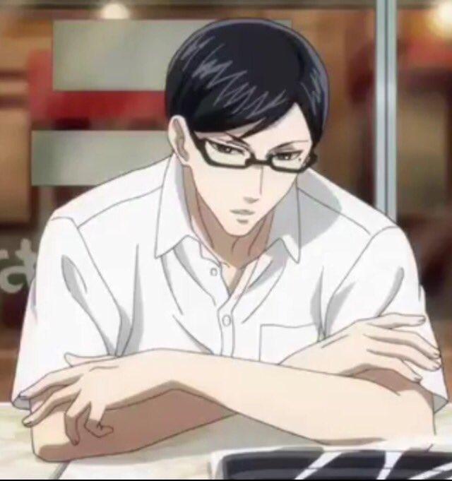 そういえば後から気づいたんだけど、坂本くん夏服だとワイシャツの一番上のボタン止めないのね(*´д`*)ハァハァ#坂本です