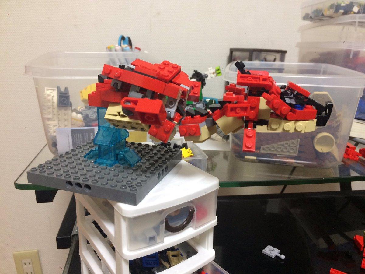 リメイクすること三度立体的な胸筋を確立しました#LEGO#モンハン#モンスターハンターストーリーズ#モンハン手芸部