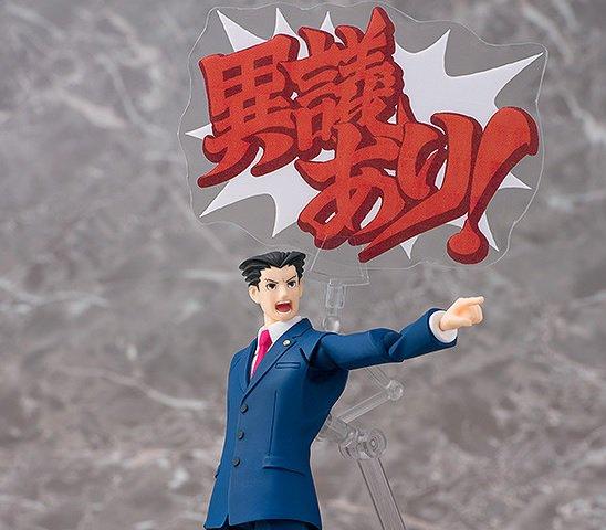 『逆転裁判』成歩堂龍一がfigma化―店舗限定特典には「テレ顔」パーツが…!