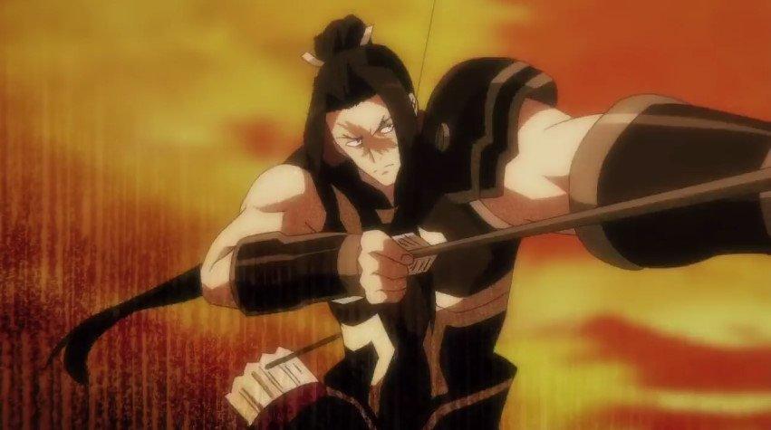 この弓使いのイケメンが曹性ってすごい優遇されてるな。某ゲームだと張郃とか凌統の顔やろこれ。 #soulbuster