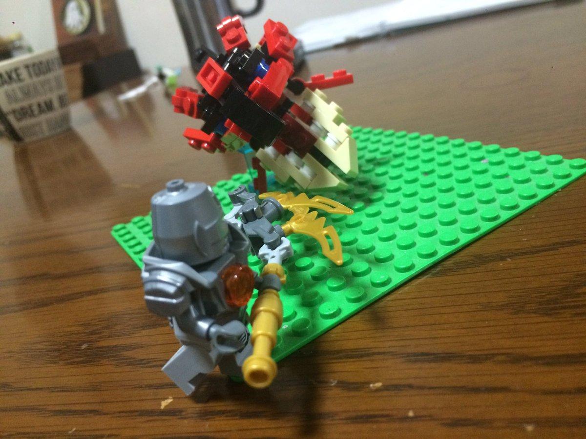 制作過程その3#LEGO#モンハン#モンスターハンターストーリーズ#モンハン手芸部