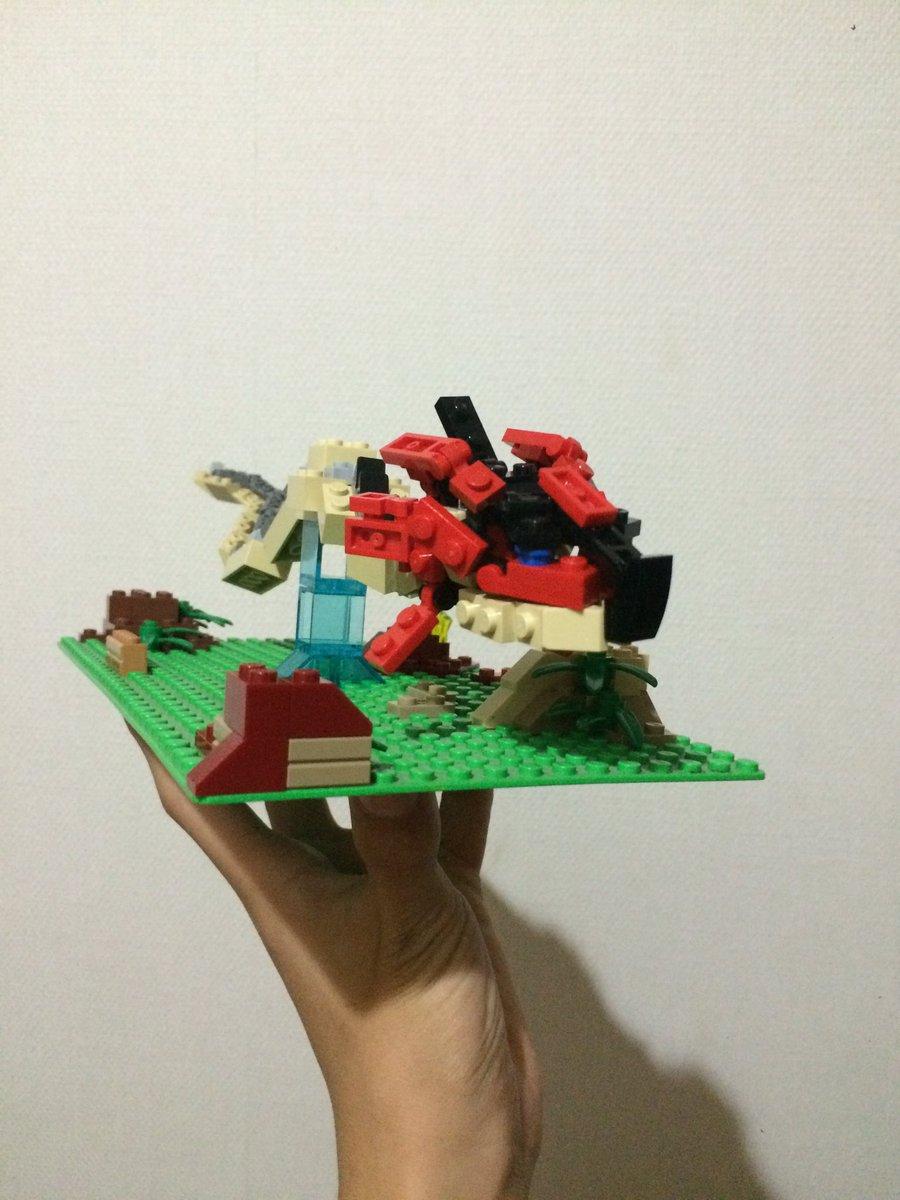 制作過程その4#LEGO#モンハン#モンスターハンターストーリーズ#モンハン手芸部