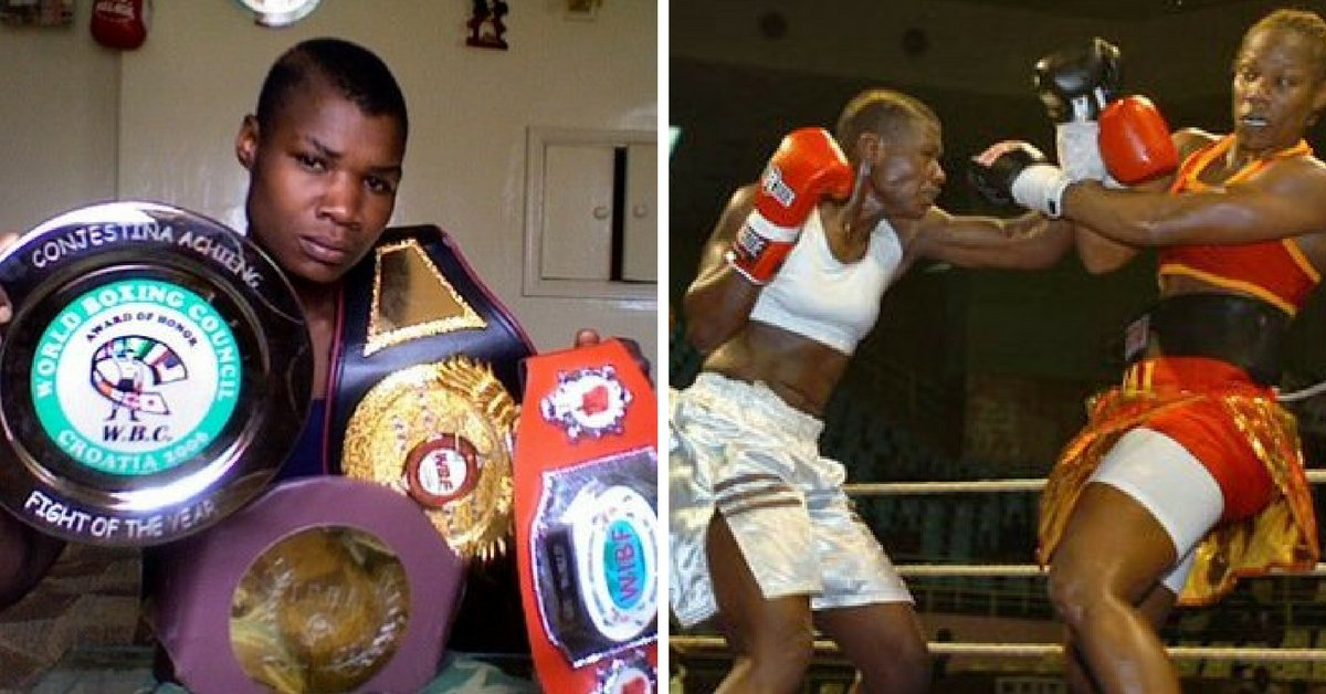 Congestina Achieng admitted to hospital