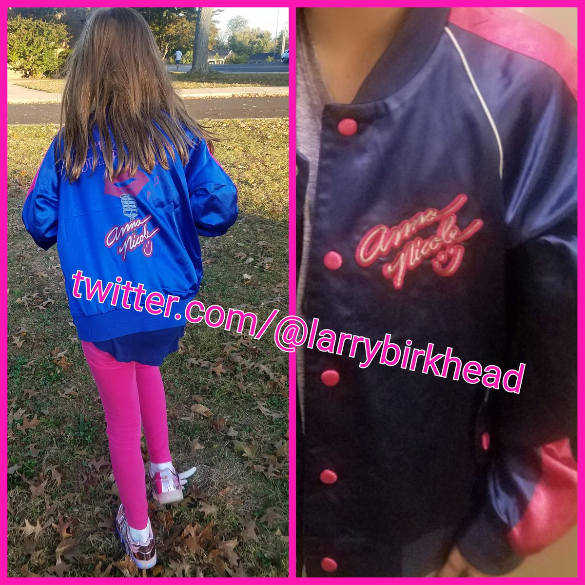 When your daughter wants 2 wear her Mom's jacket 2 school and it makes u glad that u were a packrat all these years! https://t.co/RHJJAnfrxm