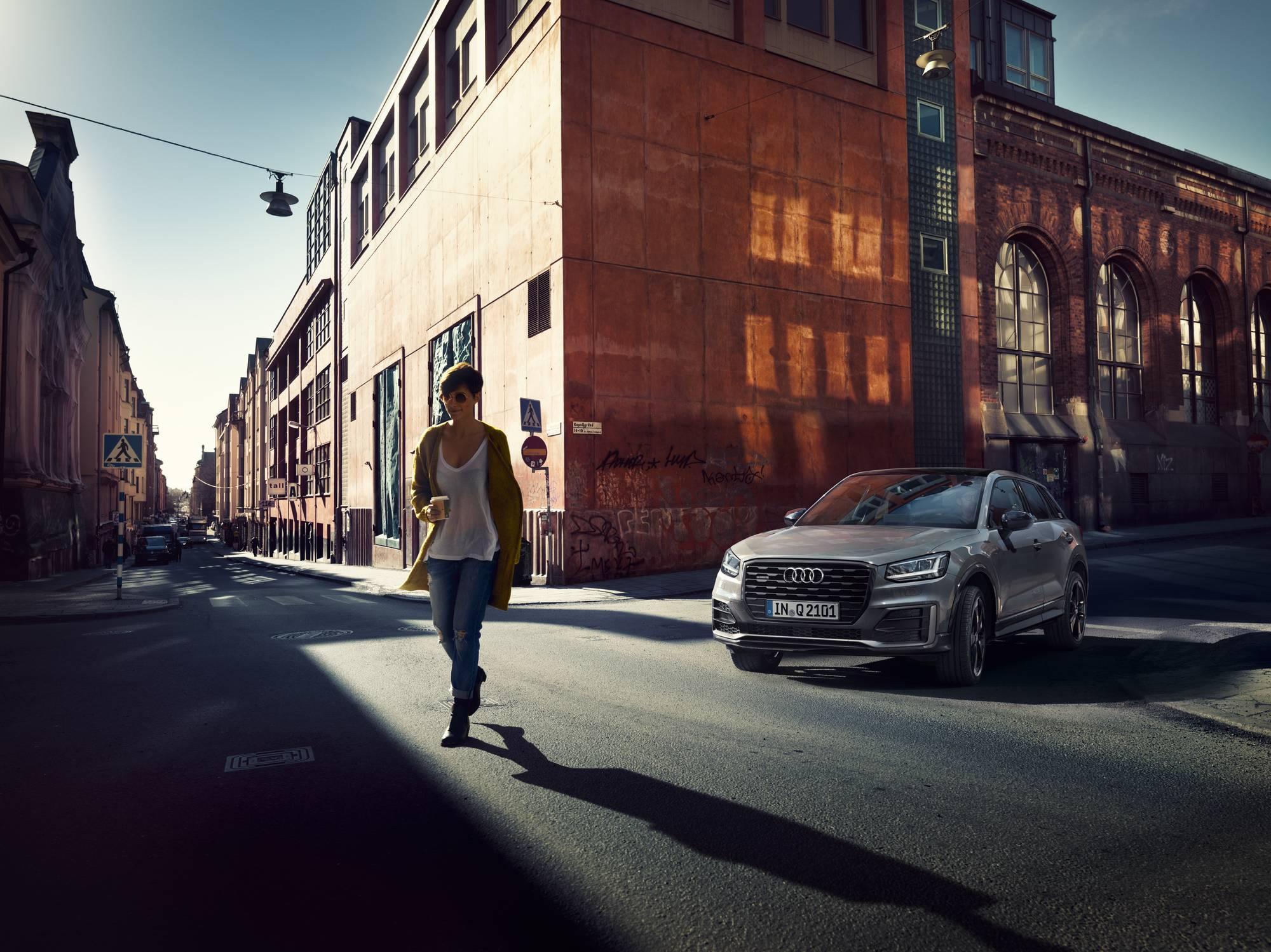 Urbaine, élégante, en vogue, l'Audi Q2 multiplie les visages au gré de votre personnalité. #untaggable https://t.co/S1TQgI623m