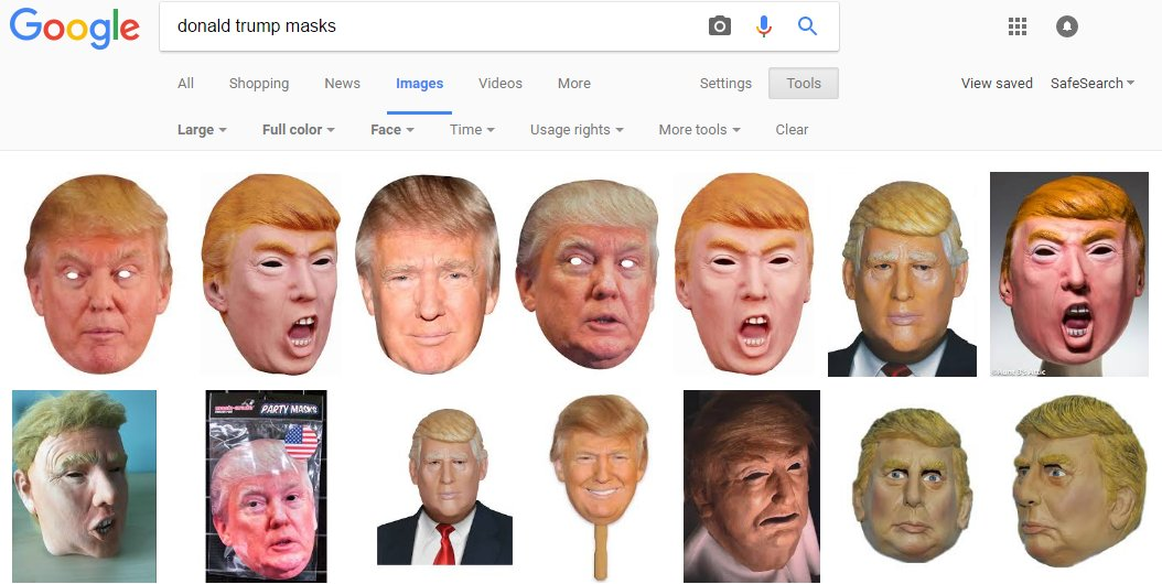Trump Halloween masks are outselling Clinton ones, 55 percent to 45 percent