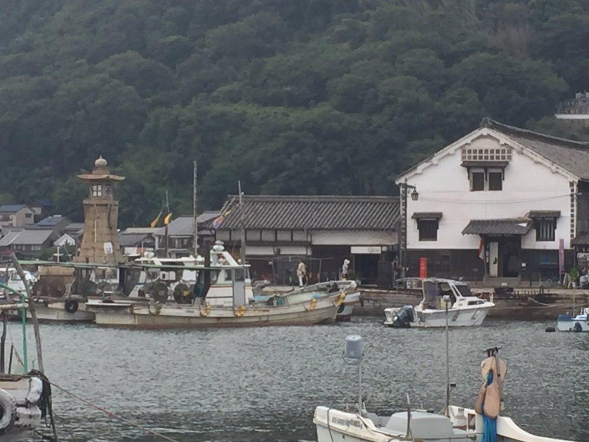 以前、流星ワゴンってドラマで見た港町が気になって行ってみた。古い街並みは倉敷と同じなんだけど、そこまで観光地化はしてなく