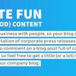 Write Fun (and Good) Content. #websitetips - https://t.co/9KUfNl71PP https://t.co/UroyArwjyx