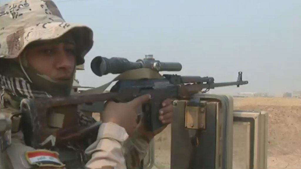 Video: Iraqi forces liberate Christian village en route to Mosul