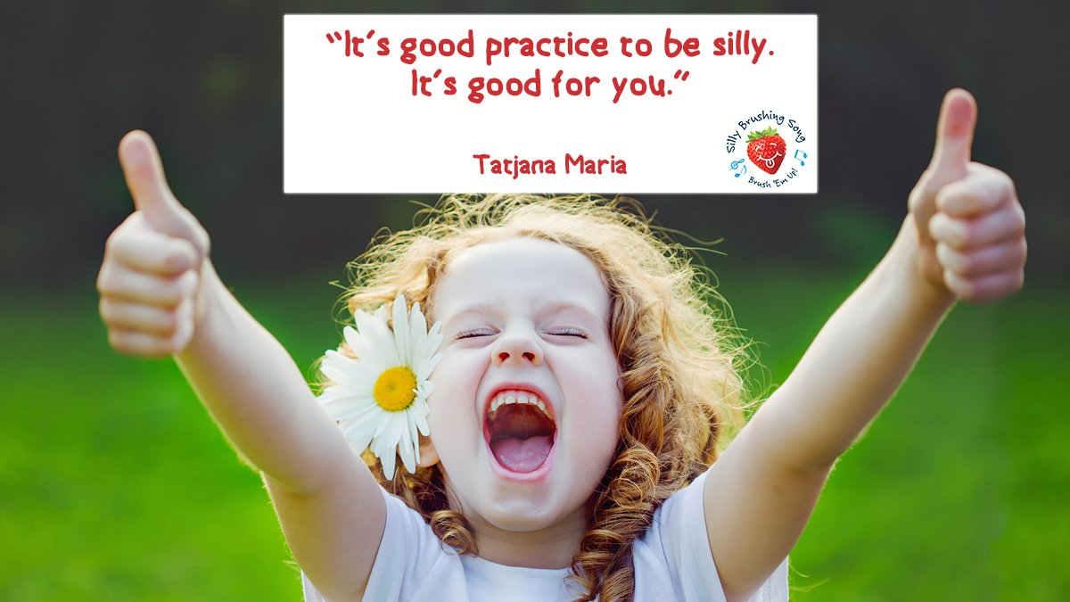 Do what is good for you! #SillyBrushing https://t.co/BGK3s4f7dr