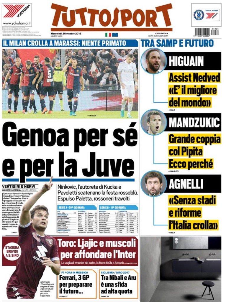 #GenoaMilan