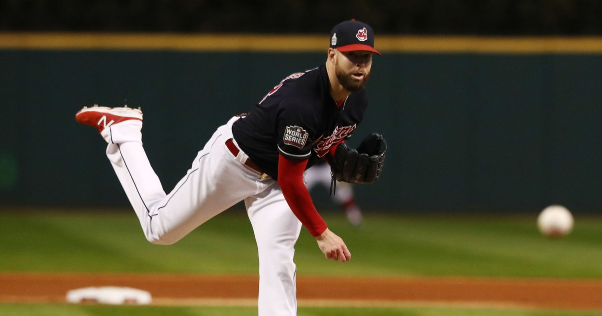 Corey Kluber sets World Series strikeout record