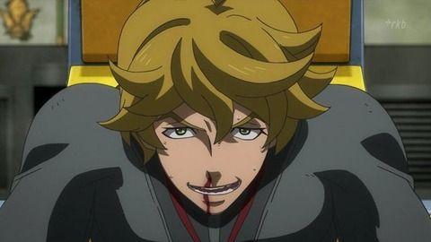 ガンダムまとめライフ : 【鉄血のオルフェンズ】なにげにこのアニメで一番生長してるのユージンじゃね