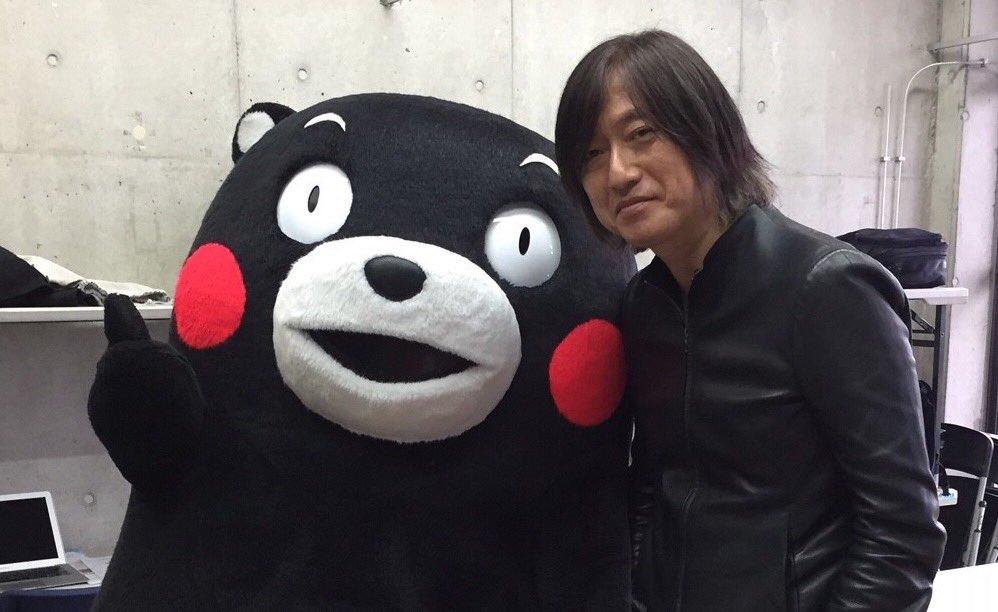 今回のイベントの代表、bankbandの小林武史さんと、櫻井和寿さんだモン!くまもとにようこそだモン☆
