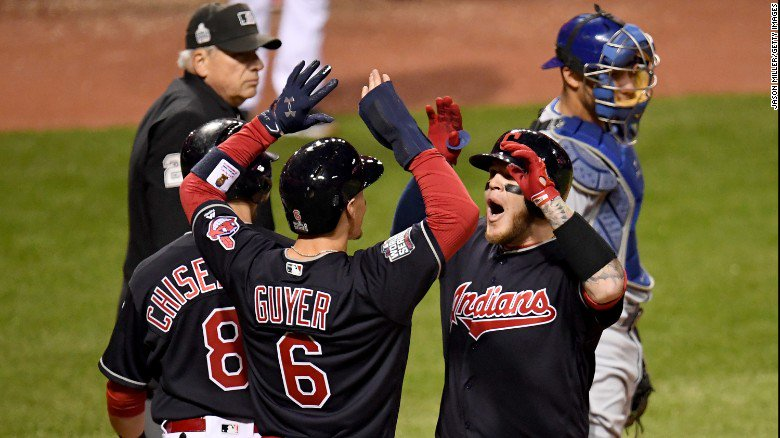 Cleveland Indians shut down the Chicago Cubs 6-0 to take Game 1 of the World Series
